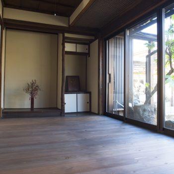 自然素材を採用して、家の構造を高める