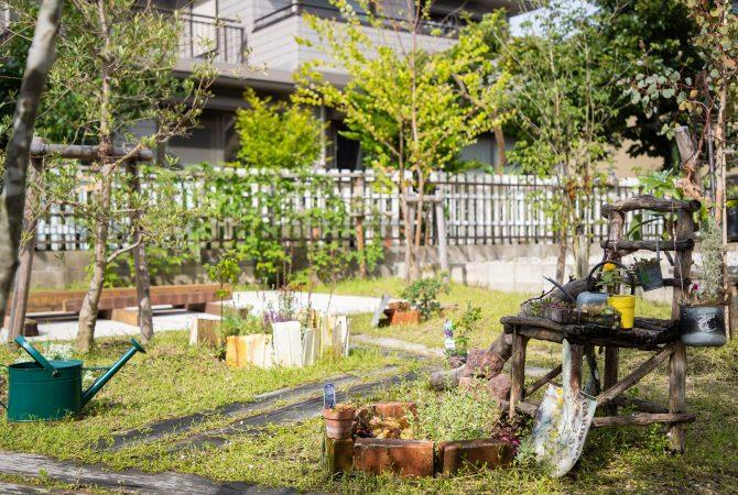 枕木 ガーデン